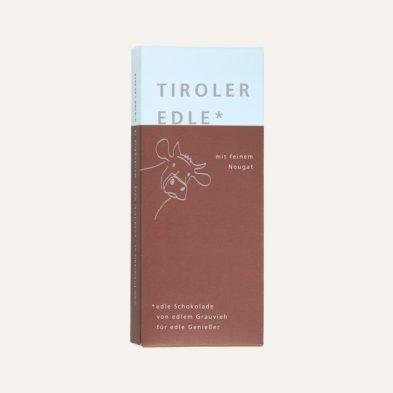 Milchschokolade mit feinem Nougat