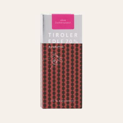 NEU: purissima maxima 70% mit Bergkaffee