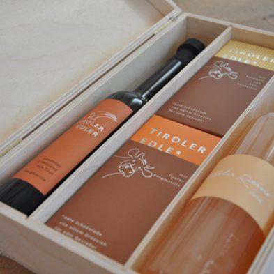 Geschenkbox Edles aus Tirol*