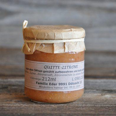 Quitte-Zitronen-Marmelade