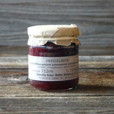 Preiselbeer-Marmelade