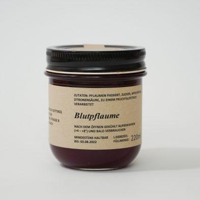 Blutpflaumen-Marmelade