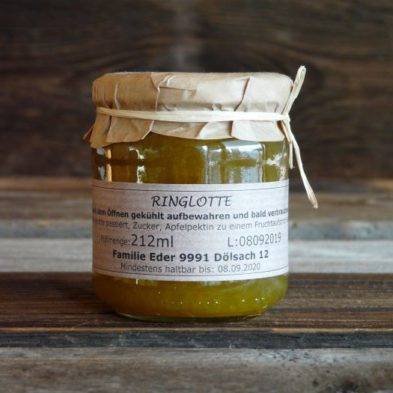Ringlotte-Marmelade