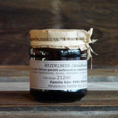Heidelbeer (Waldheidelbeer)-Marmelade