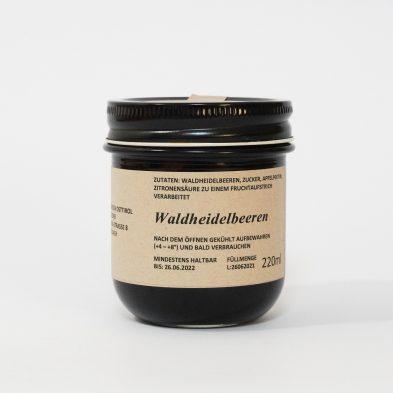 Waldheidelbeer-Marmelade
