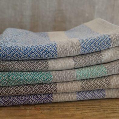 Handgewebtes Handtuch