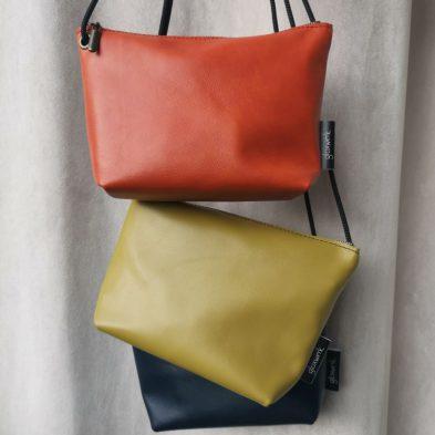Kleine Lederhandtasche von glüxwerk