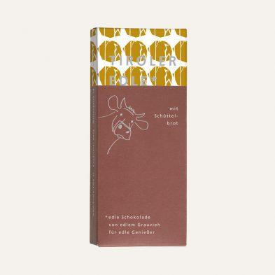 NEU: Milchschokolade mit Schüttelbrot