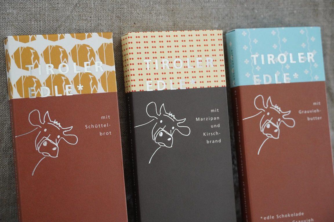 Neue Tiroler Edle Schokoladen 2020