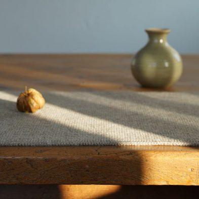 Tischset aus reiner Bergschafwolle