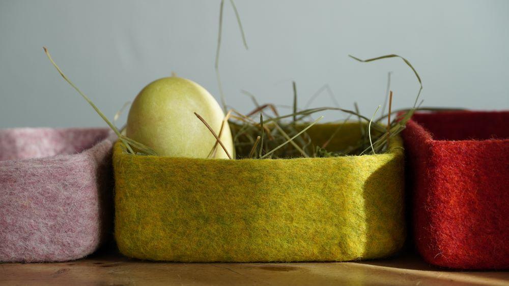 Osterkörbe von Sandra Folie