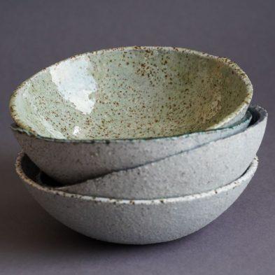 Handgemachte Keramikschalen